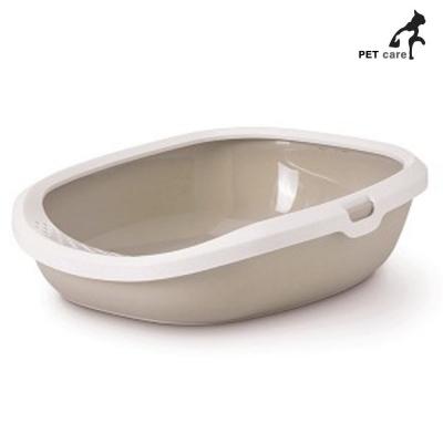 사빅 기즈모라지 평판 고양이 화장실 (베이지)
