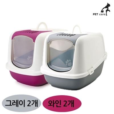 사빅 점보 화장실 (4개입) (와인2개) (그레이2개)?