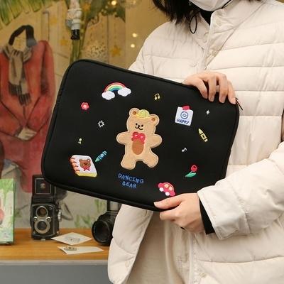 34000 댄싱베어 노트북 파우치 13인치